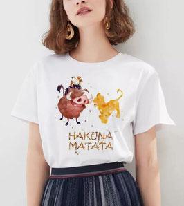 T-Shirt Damen Hakuna Matata Aqua