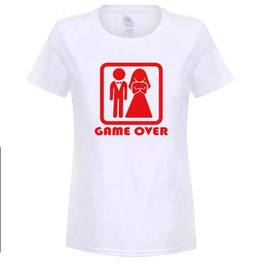 T-Shirt Damen GAME OVER