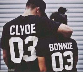 T-Shirt Bonnie / Clyde