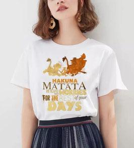 T-Shirt Damen Hakuna Matata Schriften