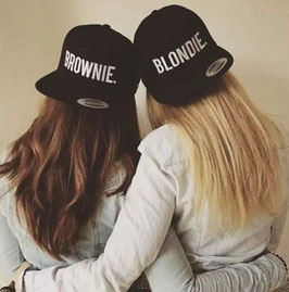Blondie / Brownie Cap schwarz