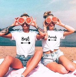 """T-Shirt Damen Best Friends """"Pfeil"""""""