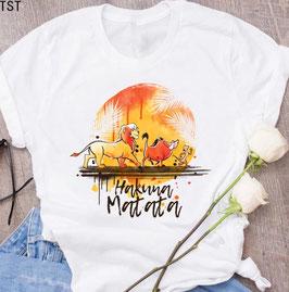 T-Shirt Damen HM AQUA Sonne