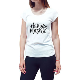 T-Shirt Damen Hakuna Matata funky