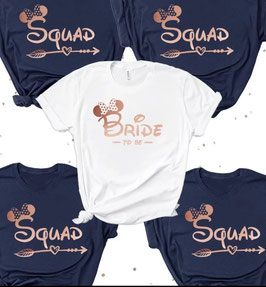 T-Shirt Mouse Bride/Squad