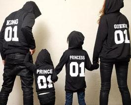 Hoodie King/Queen/Prince/Princess