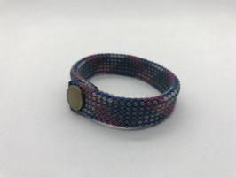Armband violett grau