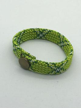 Armband grün gezackt