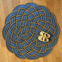 Kletterseil Teppich rund