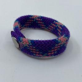 Armband violett/rosa