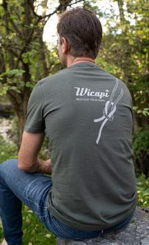 Wicapi Herren T- Shirt khaki 79-0001
