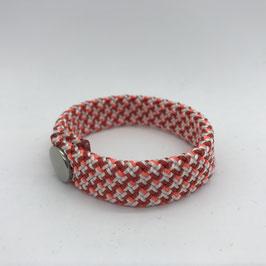 Armband rot gemustert