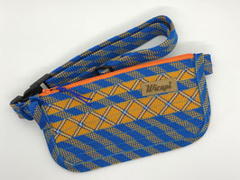 Bum Bag blau/ orange