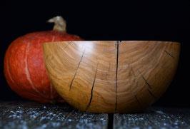 Holzschüssel aus Kirschholz Handarbeit Holzschale