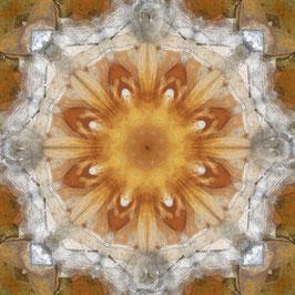 """Tuch """"Kaleidoskop1 ocker"""""""