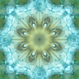 """Tuch """"Kaleidoskop1 wasserfarben"""""""