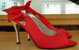 High Heels Sandaletten Gr.40 rot