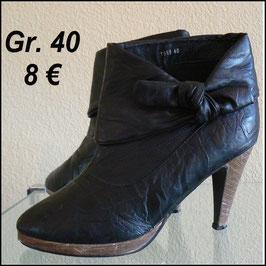 Stiefeletten Ankle Boots schwarz