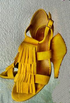 Gelbe Sandaletten Gr.39 2ndhand