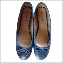 Ballerinas Gr. 39 blau
