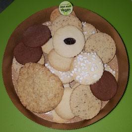 Gemischte Kekse, vegan