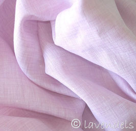 rosé Leinen 175 cm breit Ökotex