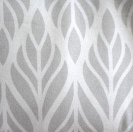 Ornamente hellgrau Jersey