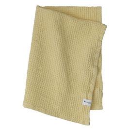 Waffel-Handtuch sonnengelb  50x70