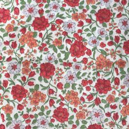 rotes Blumenparadies GOTS