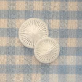 Wäscheknöpfe weiß 15 mm