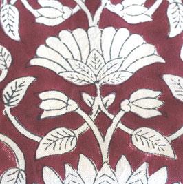 orientalische Blume weinrot  GT Bungalow