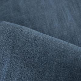 meeresblau stonewashed Leinen