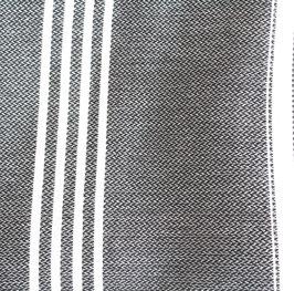fast schwarz Hamam-Tuch 160 x 220 cm