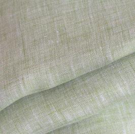 lindgrün Leinen 175 cm breit Ökotex