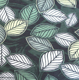 grüner Blätterwald