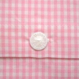 Bettwäsche rosa klein-kariert