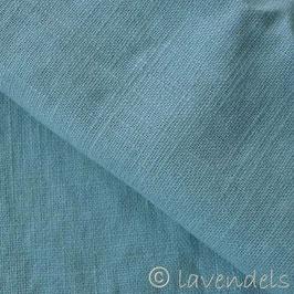 grünblau stonewashed Leinen
