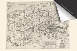 België-Oude Kaart - Inductie Beschermer