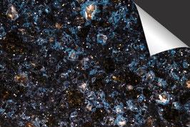 Graniet Zwart Blauw Inductie Beschermer