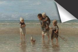 Jozef Israëls-Kinderen der zee Inductie Beschermer