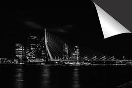 Stad Rotterdam - zwart wit