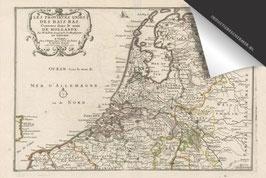 Nederland-Oude Kaart - Inductie Beschermer