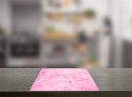 Roze bont Inductie Beschermer