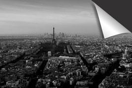 Stad Parijs - zwart wit