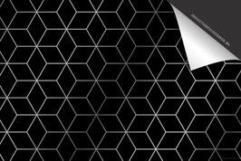 Cubes Zilver Inductie Beschermer
