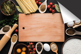 Snijplank Ingrediënten Inductie Beschermer