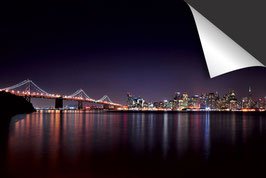 Stad San Francisco Nacht - kleur