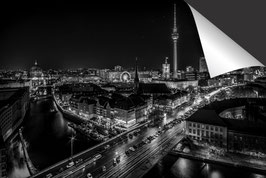 Stad Berlijn - zwart wit
