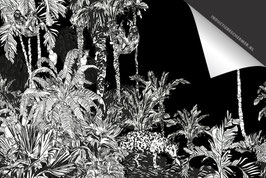 Jungle Vintage Inductie Beschermer