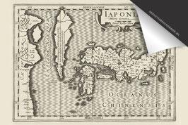 Japan-Oude Kaart - Inductie Beschermer